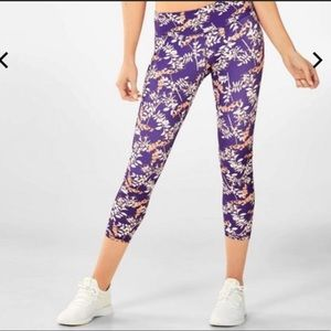 Fabletics high waist power hold Capri leggings